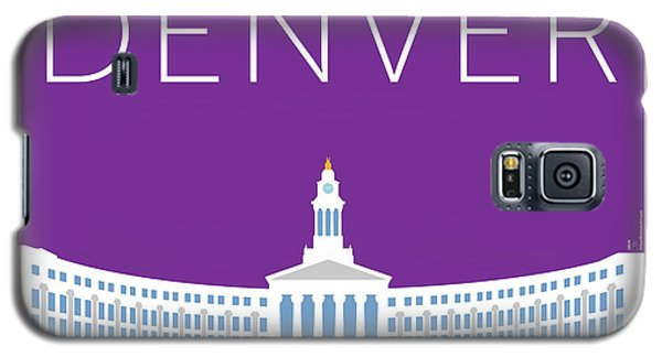 Denver City And County Bldg/purple Galaxy S5 Case