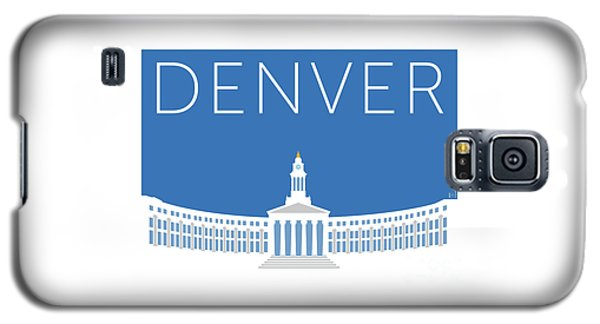 Denver City And County Bldg/blue Galaxy S5 Case