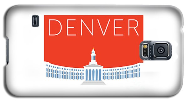 Denver City And County Bldg/orange Galaxy S5 Case