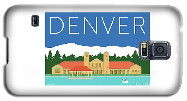 Denver City Park/blue Galaxy S5 Case