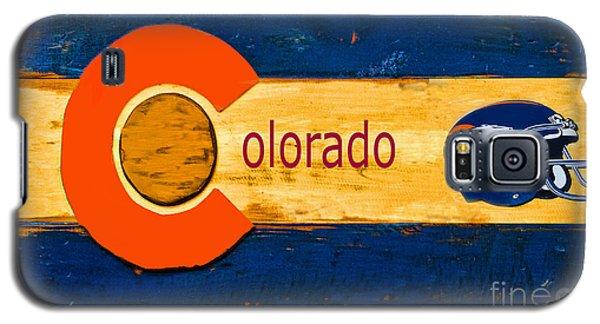Denver Colorado Broncos 1 Galaxy S5 Case by Steven Parker