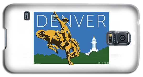 Denver Cowboy/dark Blue Galaxy S5 Case