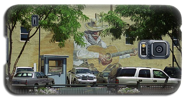 Galaxy S5 Case featuring the photograph Denver Cowboy Parking by Frank Romeo