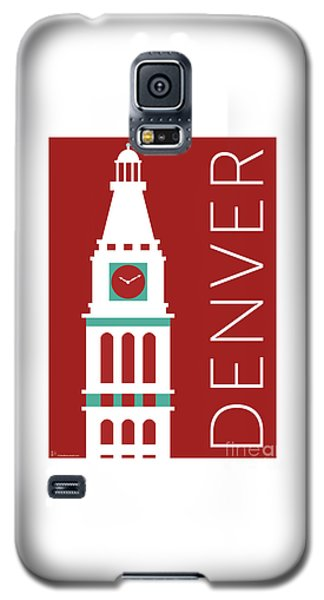 Denver D And F Tower/maroon Galaxy S5 Case