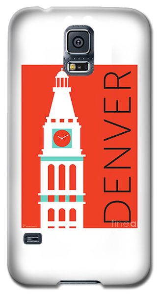 Denver D And F Tower/orange Galaxy S5 Case
