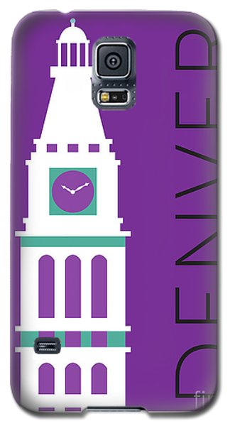 Denver D And F Tower/purple Galaxy S5 Case