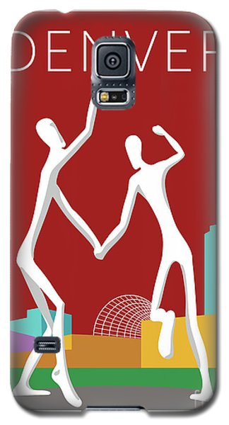 Denver Dancers/maroon Galaxy S5 Case