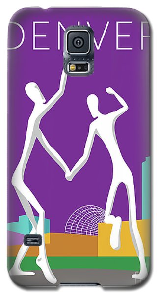 Denver Dancers/purple Galaxy S5 Case