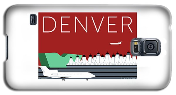 Denver Dia/maroon Galaxy S5 Case