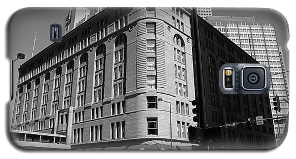 Denver Downtown Bw Galaxy S5 Case by Frank Romeo