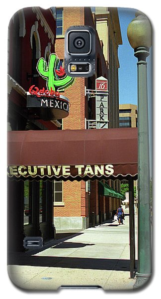 Denver Downtown Storefront Galaxy S5 Case by Frank Romeo