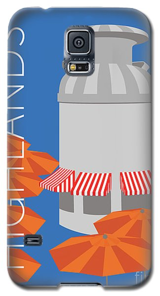 Denver Highlands/blue Galaxy S5 Case