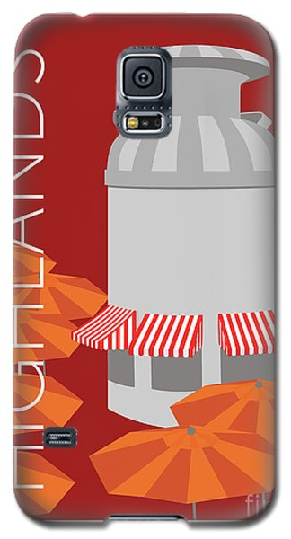 Denver Highlands/maroon Galaxy S5 Case