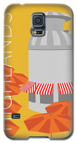 Denver Highlands/gold Galaxy S5 Case