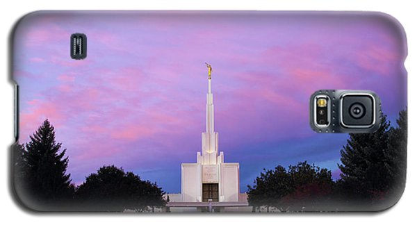 Denver Lds Temple At Sunrise Galaxy S5 Case