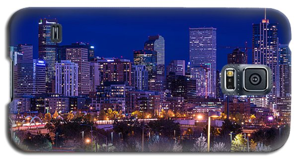 Denver Skyline At Night - Colorado Galaxy S5 Case