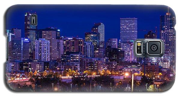 Denver Skyline At Night - Colorado Galaxy S5 Case
