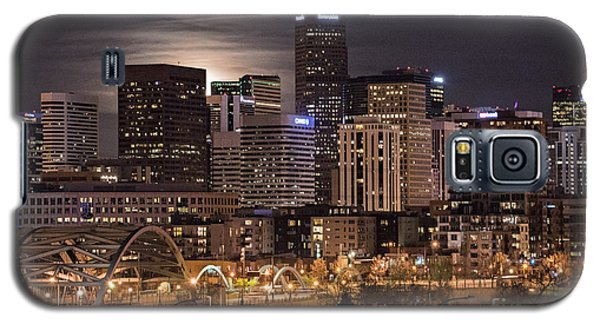 Denver Skyline At Night Galaxy S5 Case