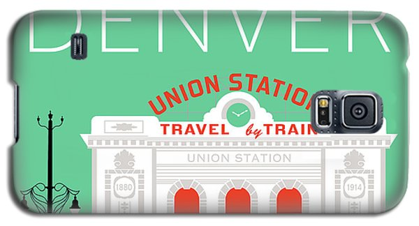 Denver Union Station/aqua Galaxy S5 Case