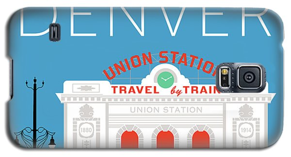 Denver Union Station/blue Galaxy S5 Case