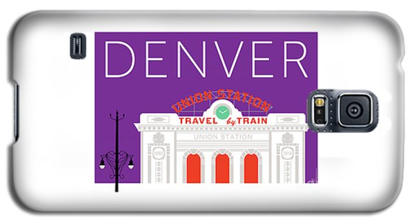 Denver Union Station/purple Galaxy S5 Case