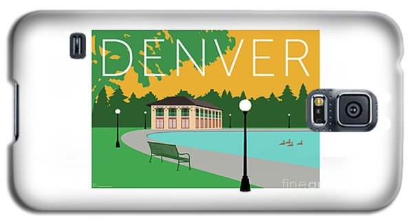 Denver Washington Park/gold Galaxy S5 Case