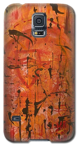 Departing Abstract Galaxy S5 Case