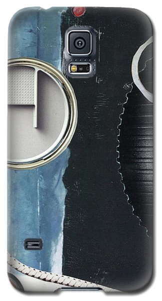 Galaxy S5 Case featuring the painting Depth Onto Space by Michal Mitak Mahgerefteh