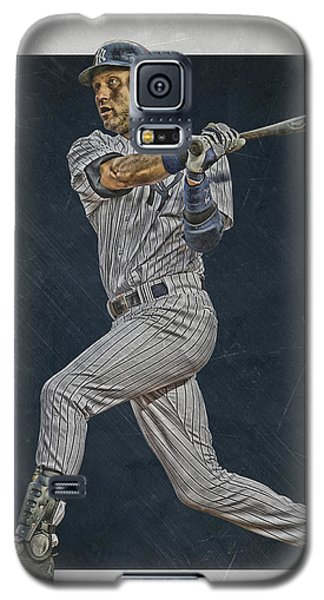 Derek Jeter New York Yankees Art 2 Galaxy S5 Case