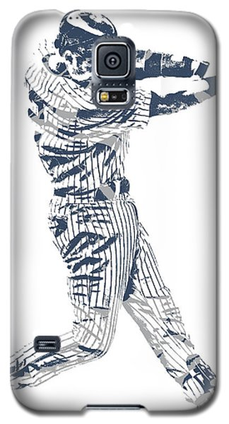 Derek Jeter New York Yankees Pixel Art 10 Galaxy S5 Case