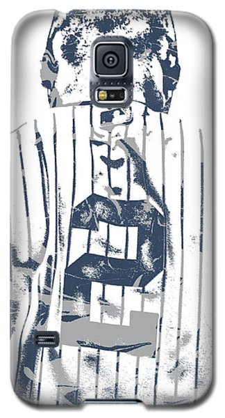 Derek Jeter New York Yankees Pixel Art 11 Galaxy S5 Case