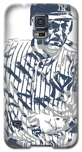 Derek Jeter New York Yankees Pixel Art 12 Galaxy S5 Case
