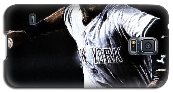 Derek Jeter Galaxy S5 Case by Paul Ward