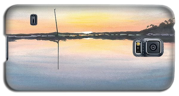 Galaxy S5 Case featuring the painting Derelict Of The Moors - II by Joel Deutsch