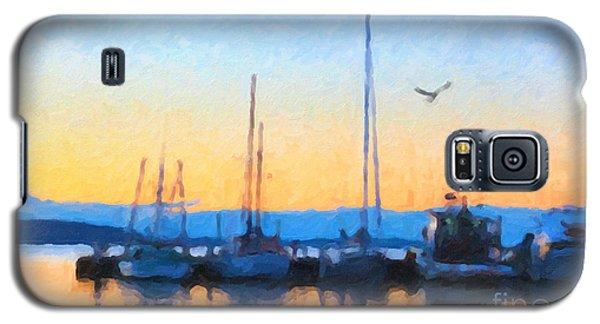 Derwent River Sunset Galaxy S5 Case