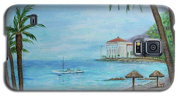 Descanso Beach, Catalina Galaxy S5 Case