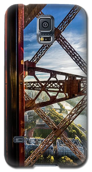 Descending In The Lift Of The Eiffel Tower. 1 Galaxy S5 Case