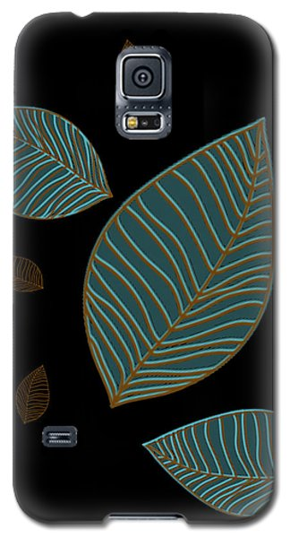 Descending Leaves Galaxy S5 Case by Kandy Hurley
