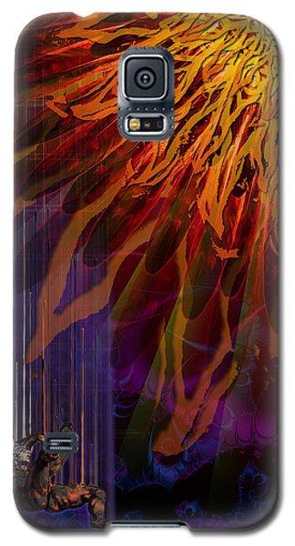 Descent Of Icarus Galaxy S5 Case