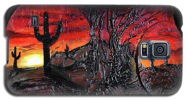 Desert Galaxy S5 Case