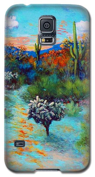 Desert At Dusk Galaxy S5 Case