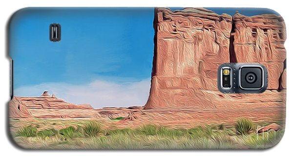 desert Butte Galaxy S5 Case by Walter Colvin
