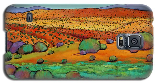 Rocky Galaxy S5 Case - Desert Day by Johnathan Harris
