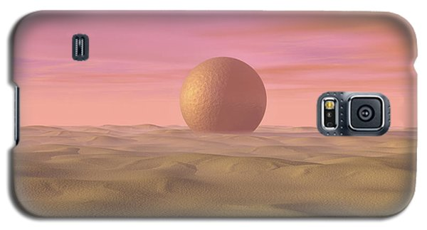 Desert Dream Of Geometric Proportions Galaxy S5 Case
