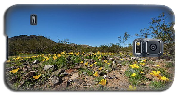 Desert Flowers In Spring Galaxy S5 Case by Ed Cilley