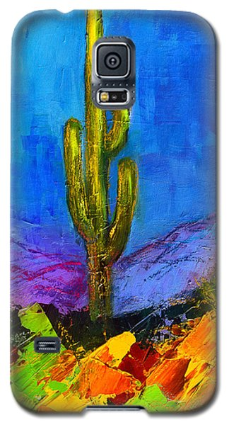 Desert Giant Galaxy S5 Case by Elise Palmigiani