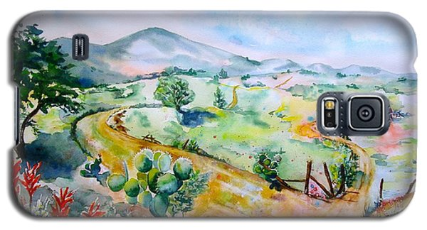 Desert In Bloom Galaxy S5 Case by Sharon Mick