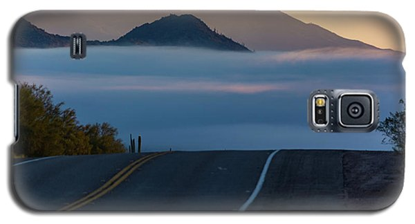 Desert Inversion Highway Galaxy S5 Case