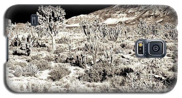 Desert Landing At Mojave National Preserve Galaxy S5 Case