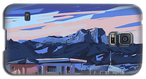 Desert Landscape 2 Galaxy S5 Case by Bekim Art
